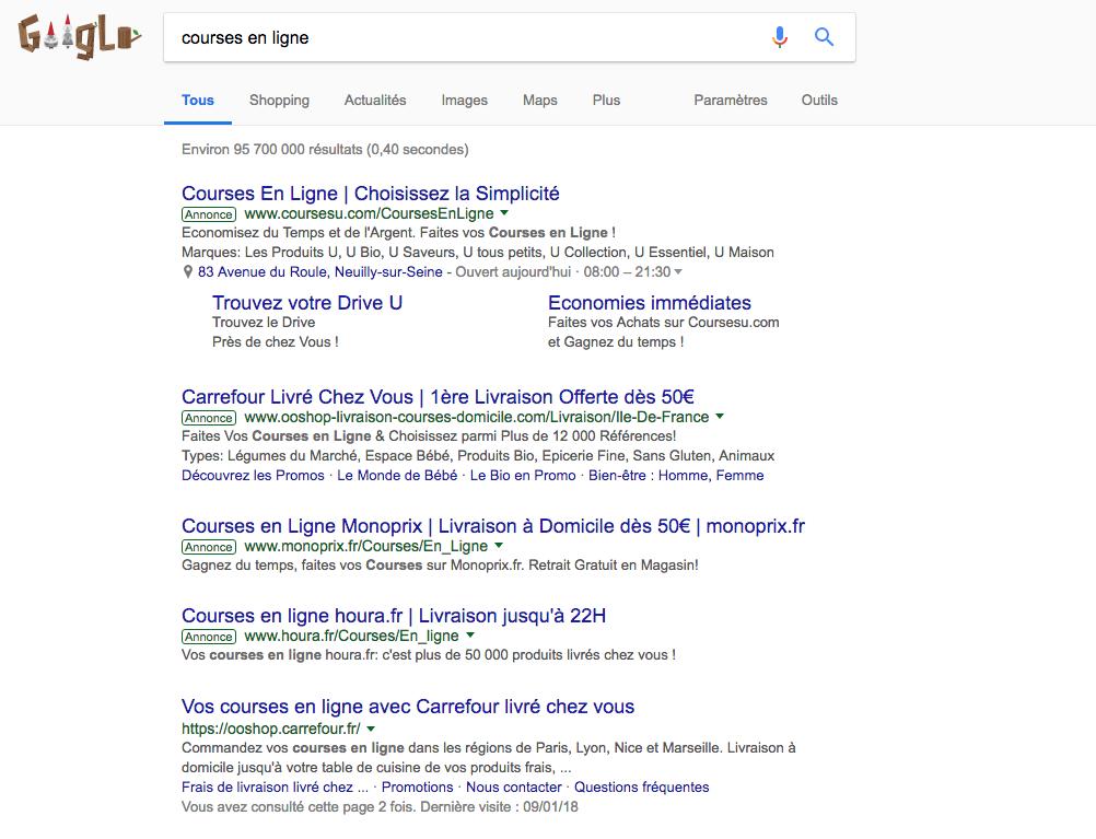 annonces google - SEA - Publicite Google - studiopm