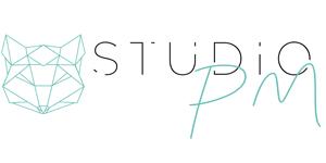 logo studiopm - consulting réseaux sociaux creation de site web et reseaux sociaux